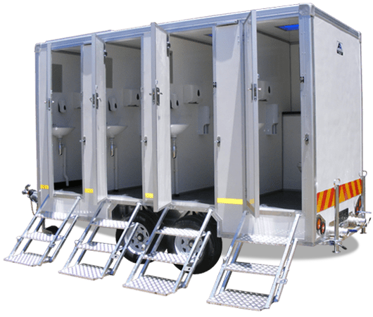 Toilet Hire - Fancy Flush - Leading Portable Toilet Hire