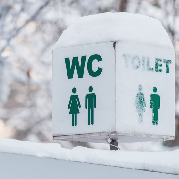 Planning for porta loos in winter